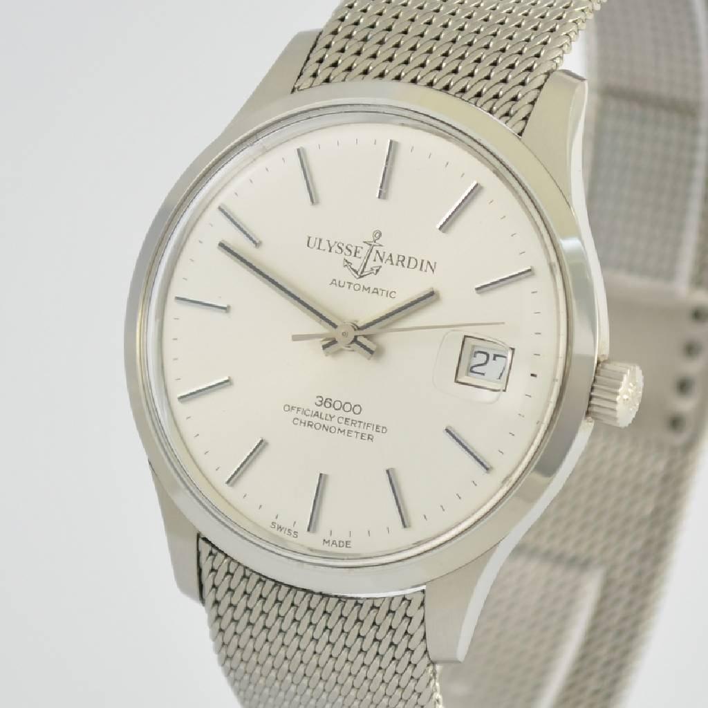ULYSSE NARDIN chronometer gent's wristwatch 36000 - 4