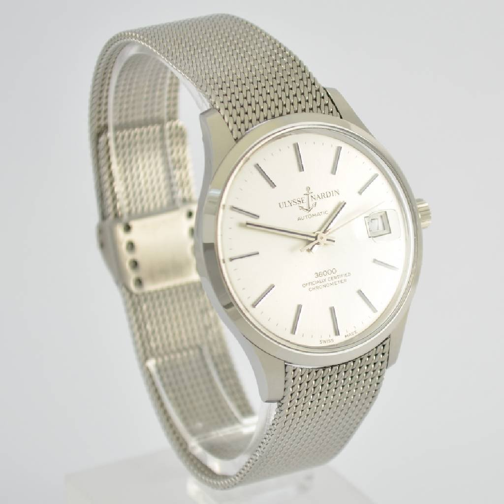 ULYSSE NARDIN chronometer gent's wristwatch 36000 - 5