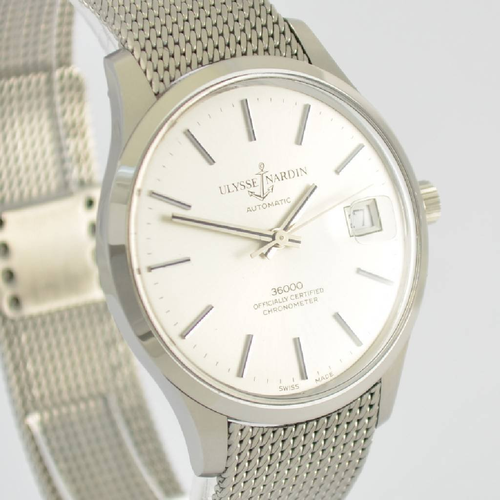 ULYSSE NARDIN chronometer gent's wristwatch 36000 - 6