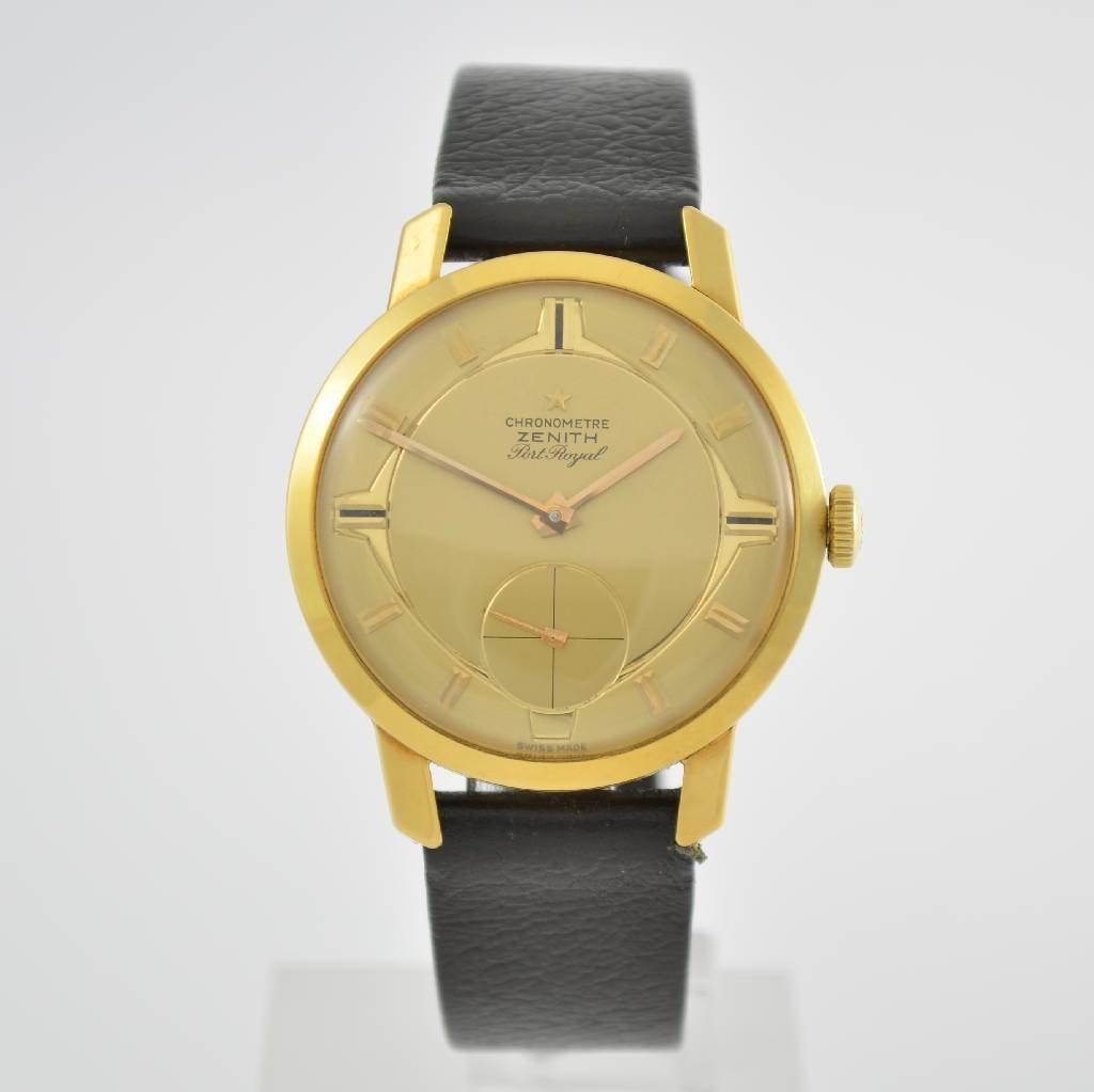 ZENITH Port Royal chronometer Kaliber 135