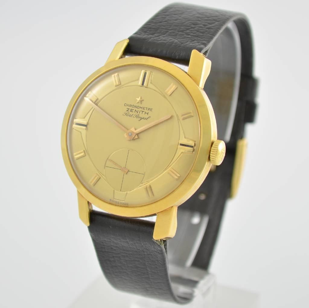 ZENITH Port Royal chronometer Kaliber 135 - 3