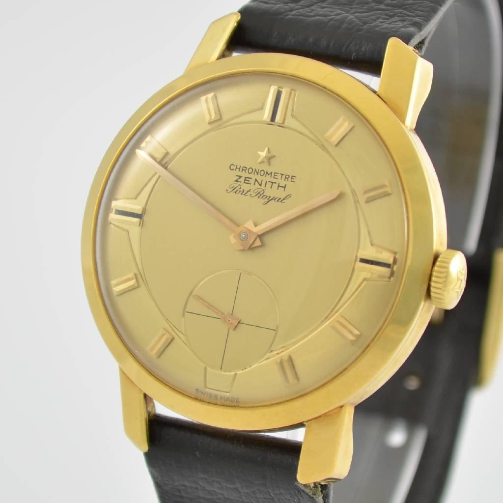 ZENITH Port Royal chronometer Kaliber 135 - 4