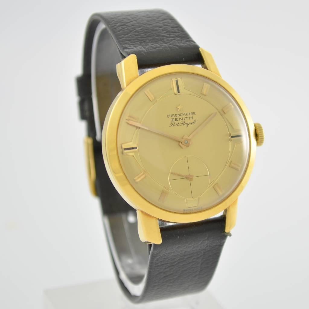 ZENITH Port Royal chronometer Kaliber 135 - 5