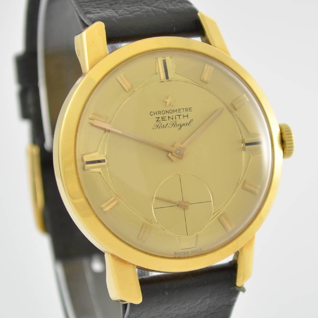 ZENITH Port Royal chronometer Kaliber 135 - 6