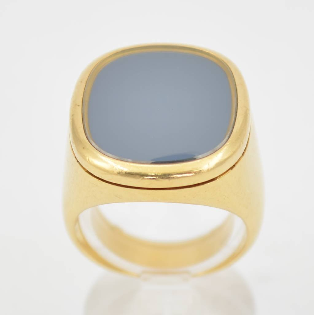 PATEK PHILIPPE GENEVE men's ring design Elypse d´Or 18k