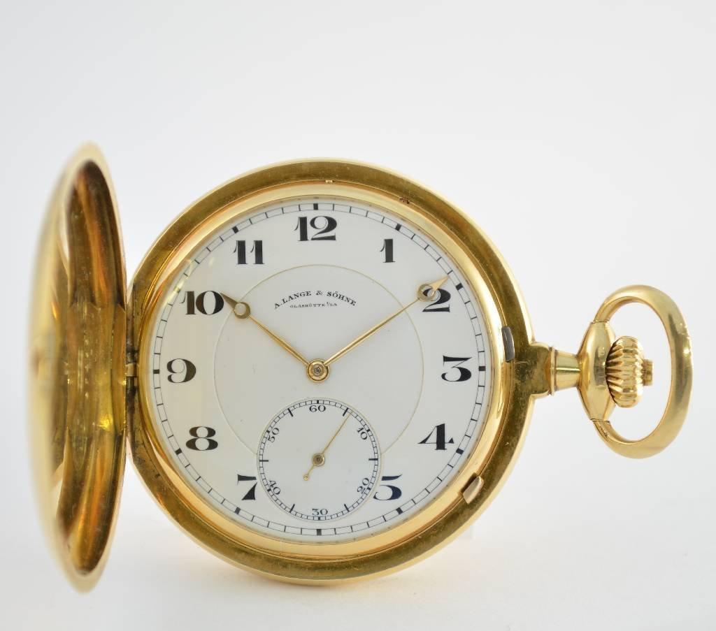 A. LANGE & SÖHNE Glashütte I/SA pocket watch 1a quality