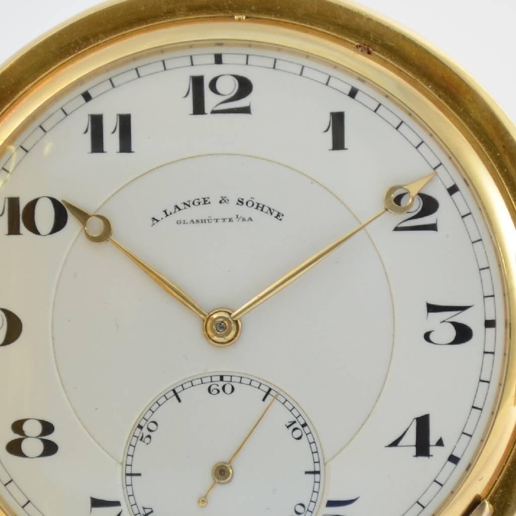 A. LANGE & SÖHNE Glashütte I/SA pocket watch 1a quality - 2