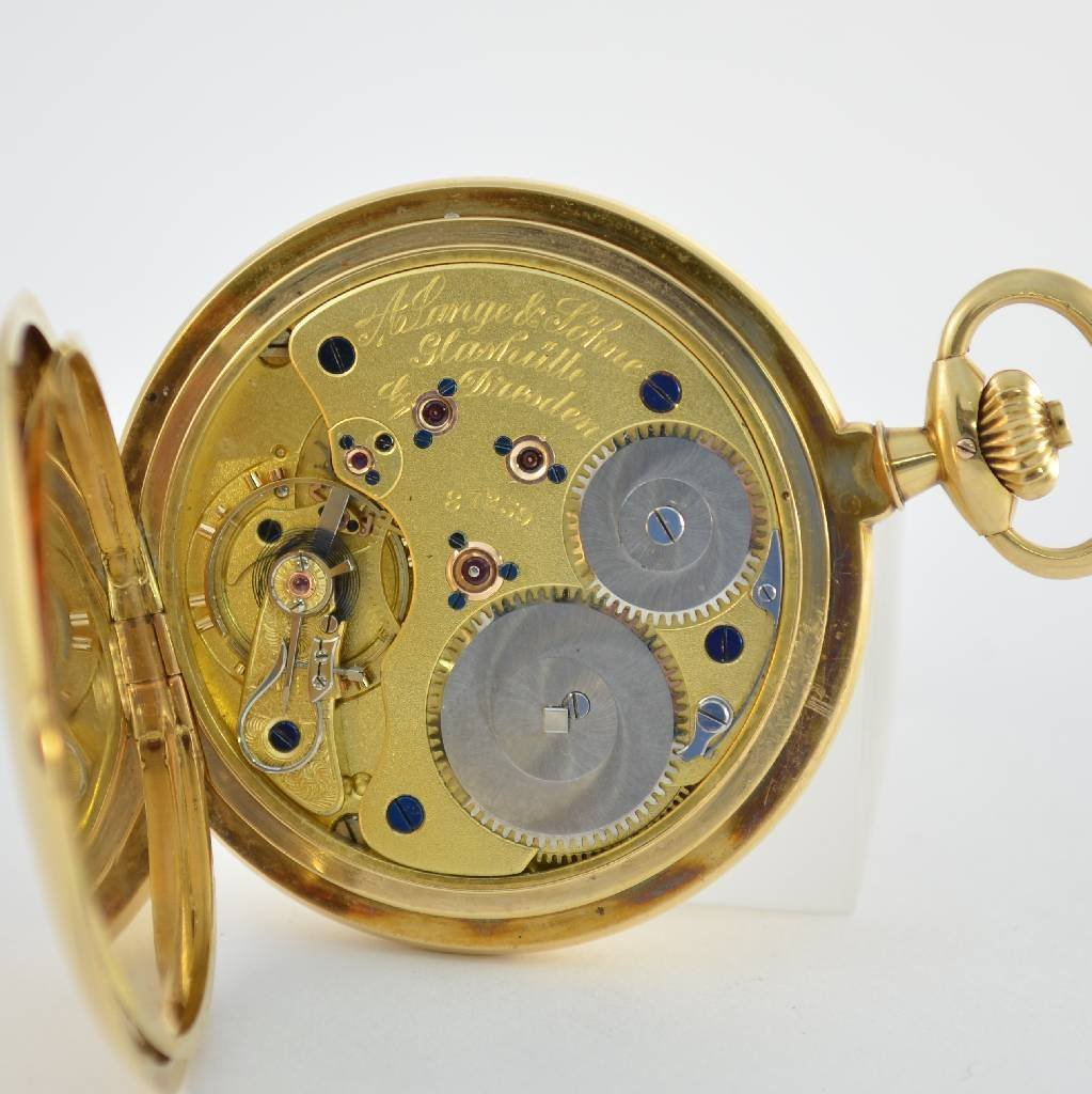 A. LANGE & SÖHNE Glashütte I/SA pocket watch 1a quality - 3