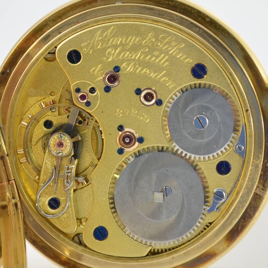A. LANGE & SÖHNE Glashütte I/SA pocket watch 1a quality - 4