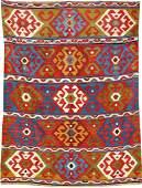 Shirvan kilim antique, ## East Caucasus, late 19th ct.,