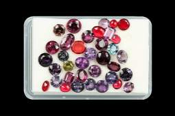 Lot loose colourful spinels total approx 2560 ct