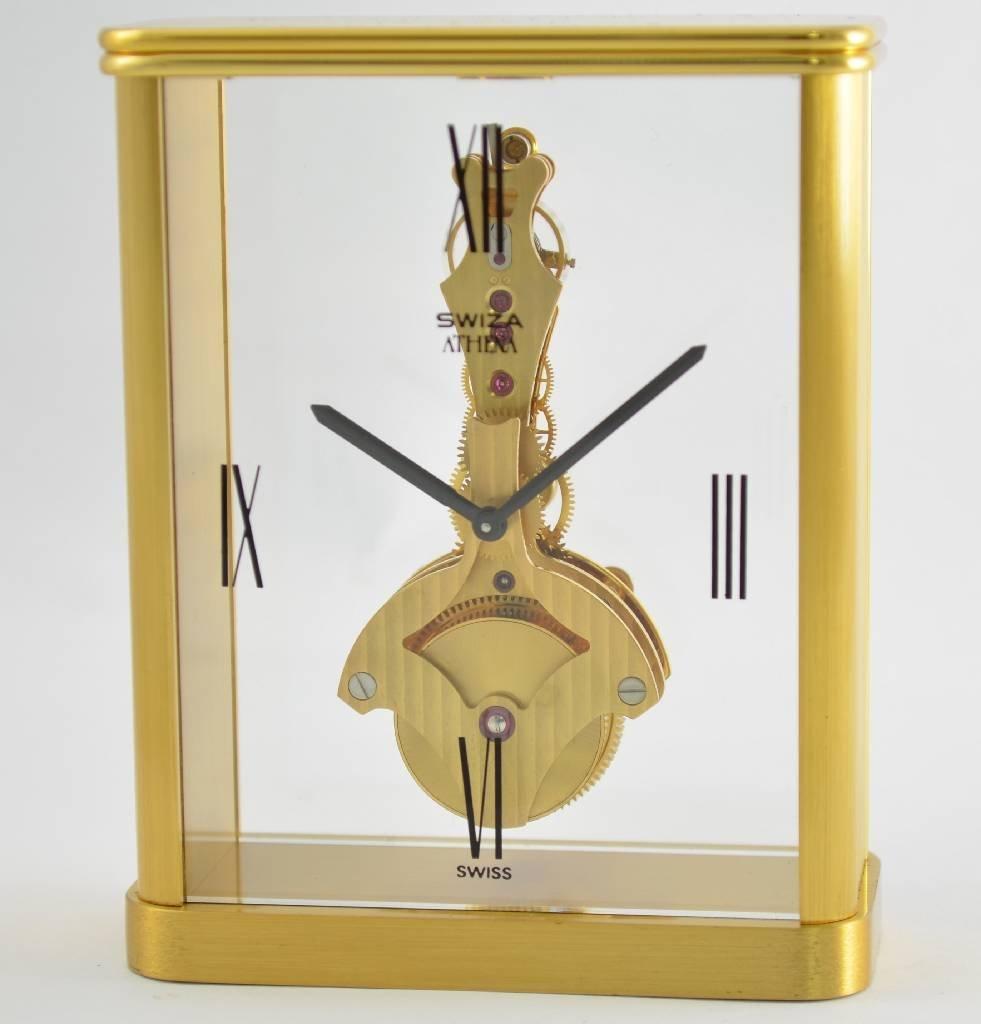 SWIZA Athena fine table clock with 8 days bar movement