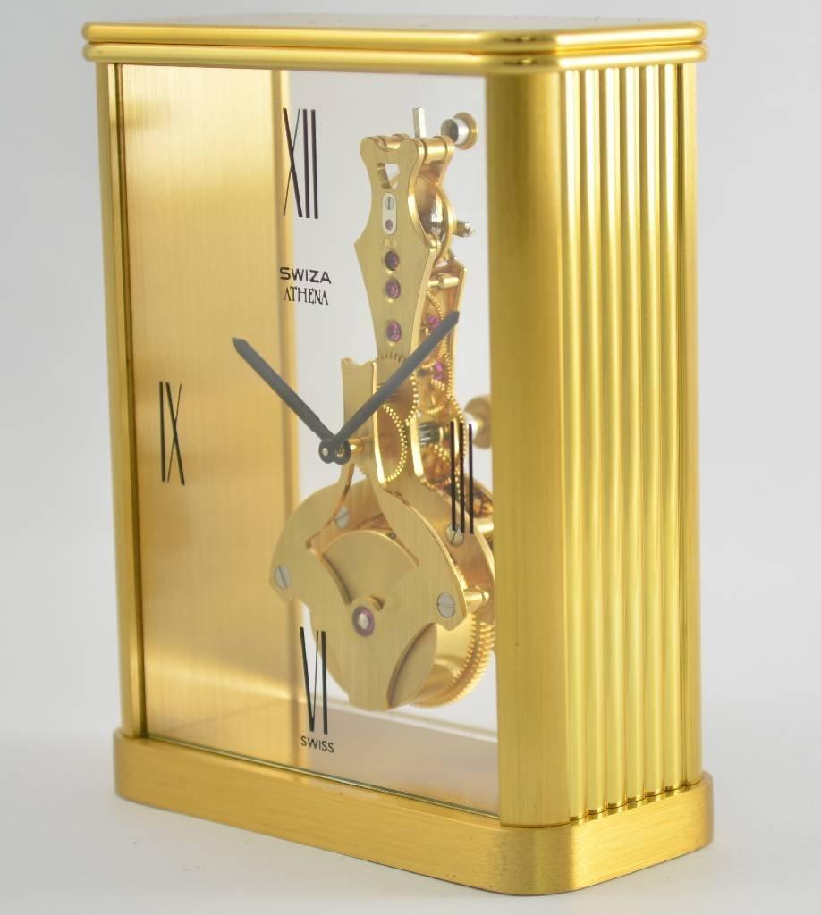 SWIZA Athena fine table clock with 8 days bar movement - 2