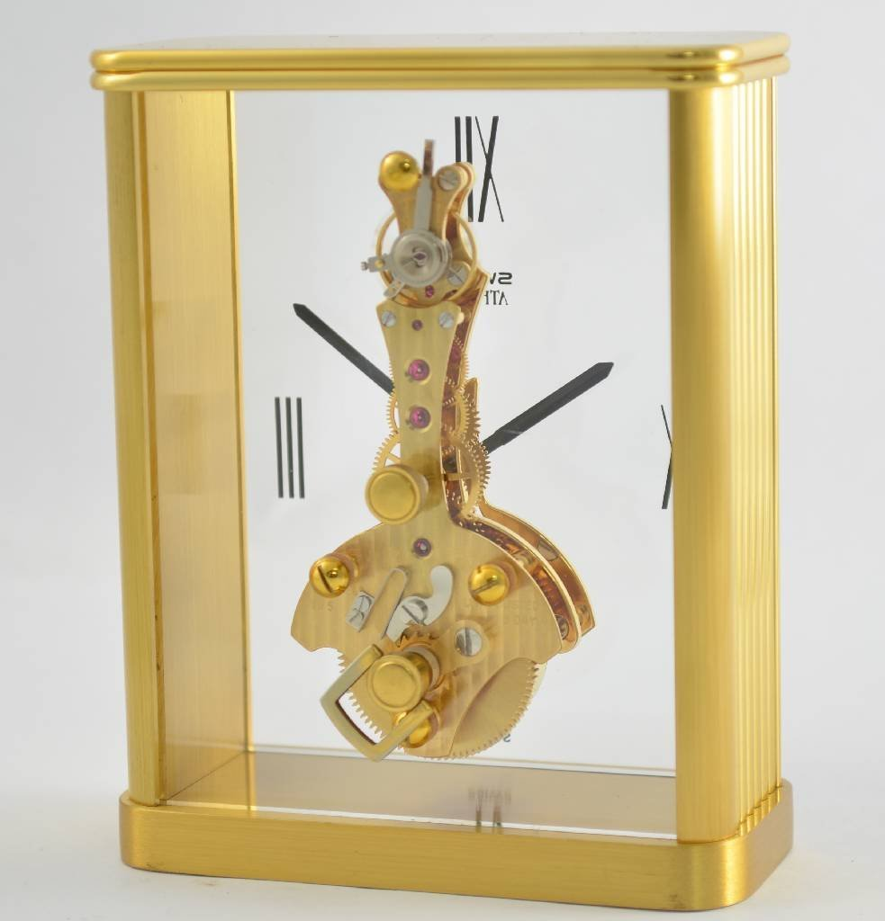 SWIZA Athena fine table clock with 8 days bar movement - 3