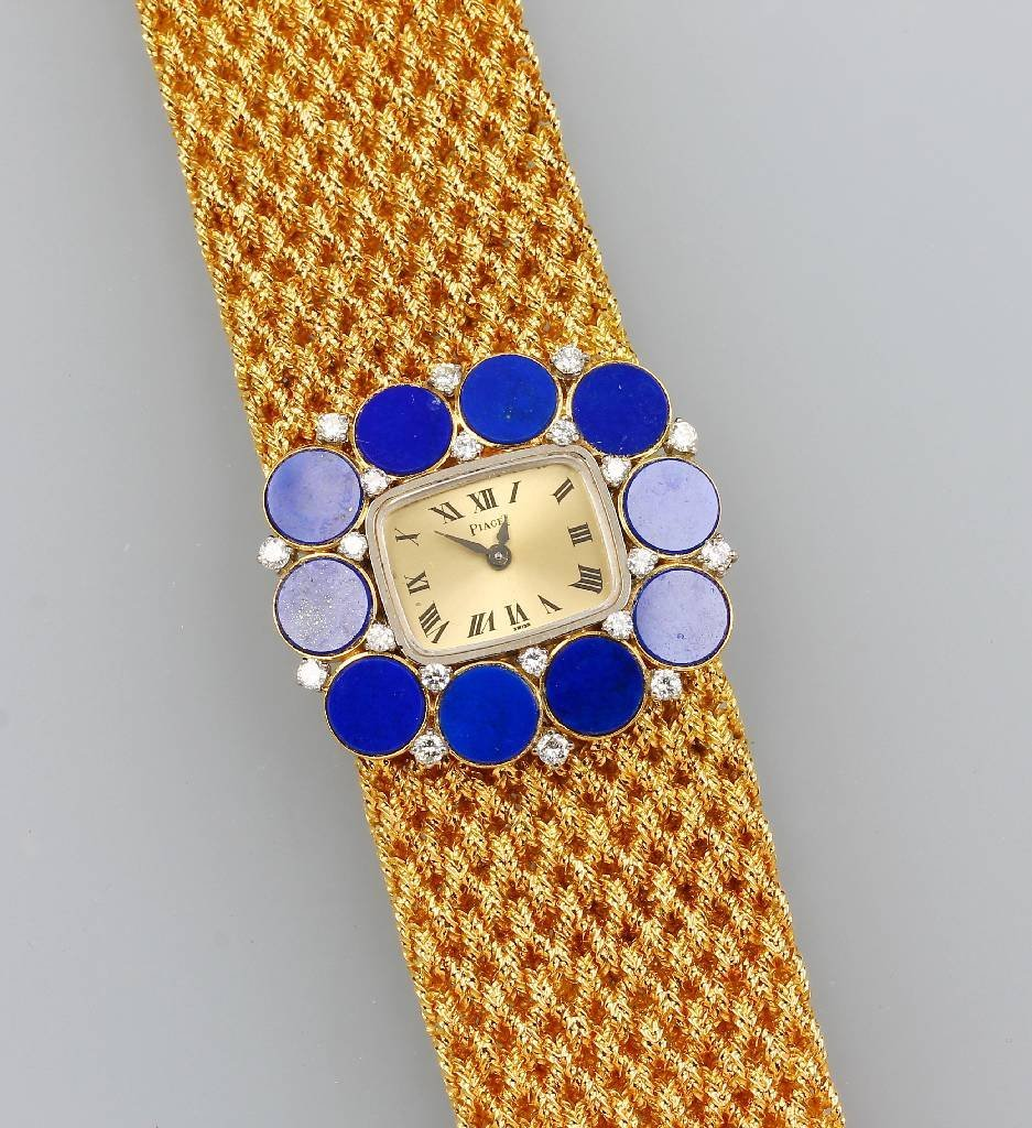 18 kt Gold PIAGET ladies' wristwatch