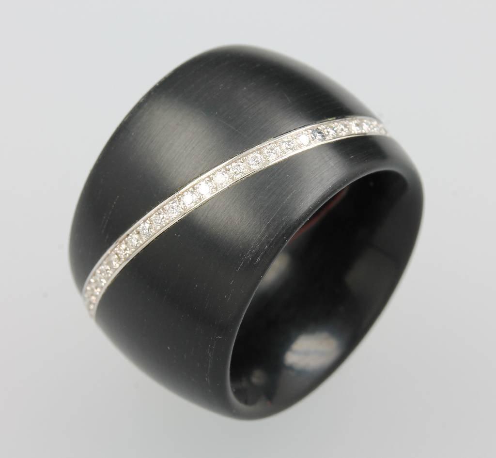 Designer-Ring WERNER HAERING, POM