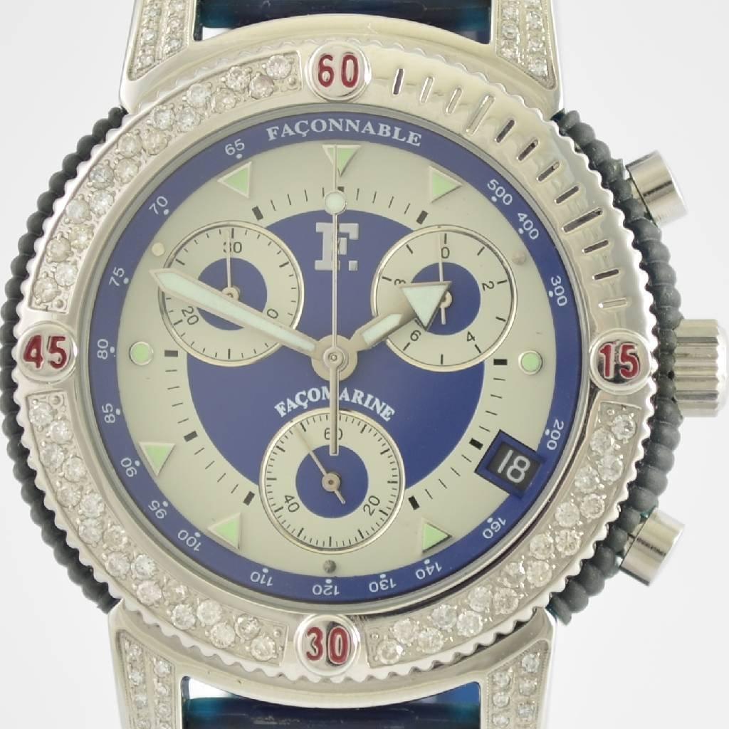 FACONNABLE chronograph Facomarine - 3