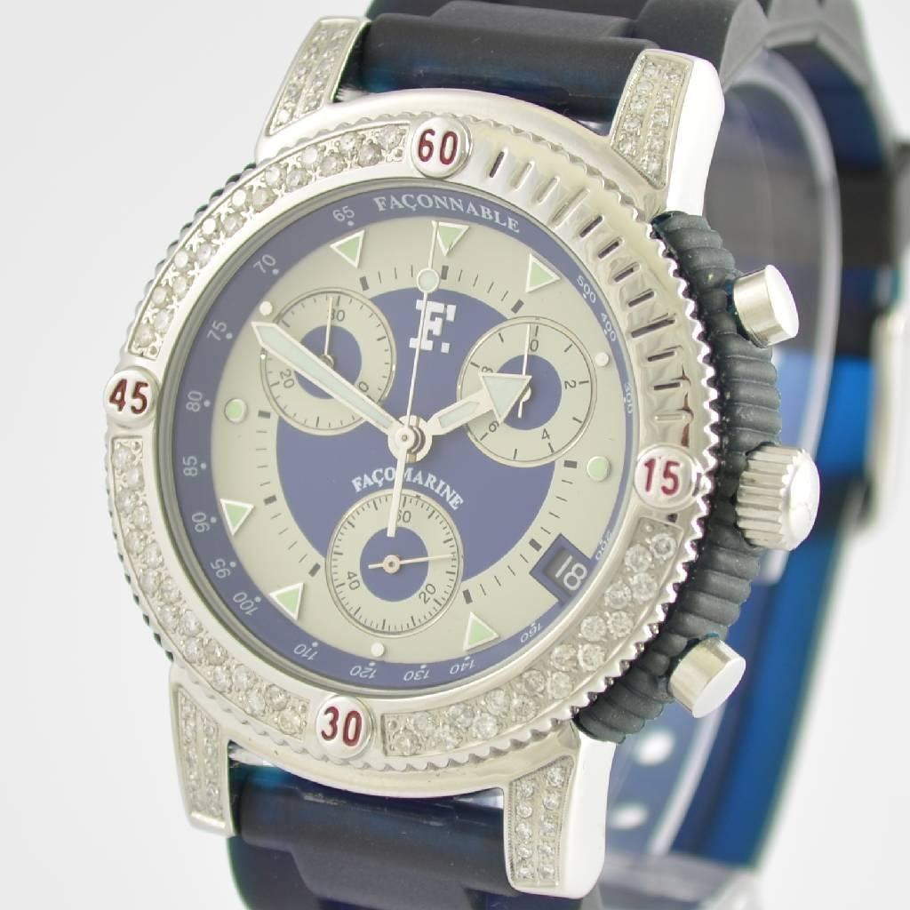 FACONNABLE chronograph Facomarine - 5