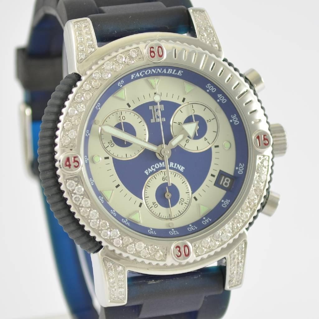 FACONNABLE chronograph Facomarine - 7