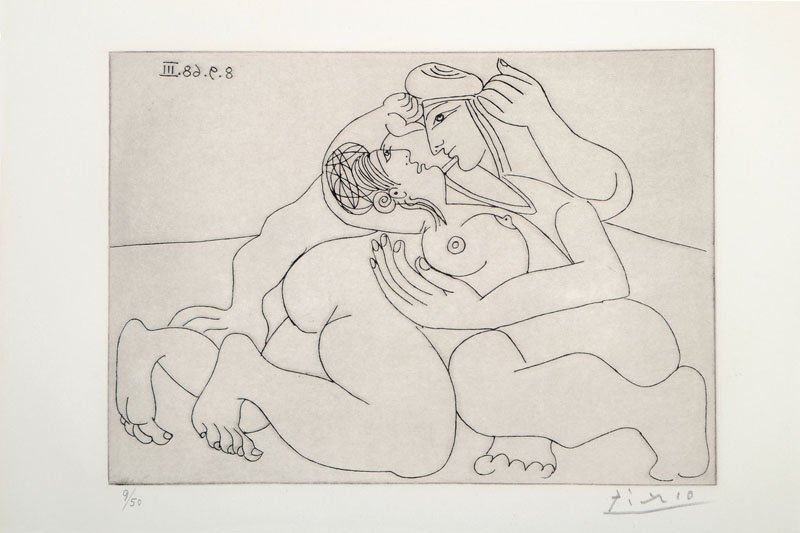 Pablo Picasso, 1881-1973, etching, signed and numbered