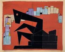 Rolf Muller-Landau, 1903-1956, monotype,