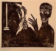 Rolf Muller-Landau, 1903-1956, monotype