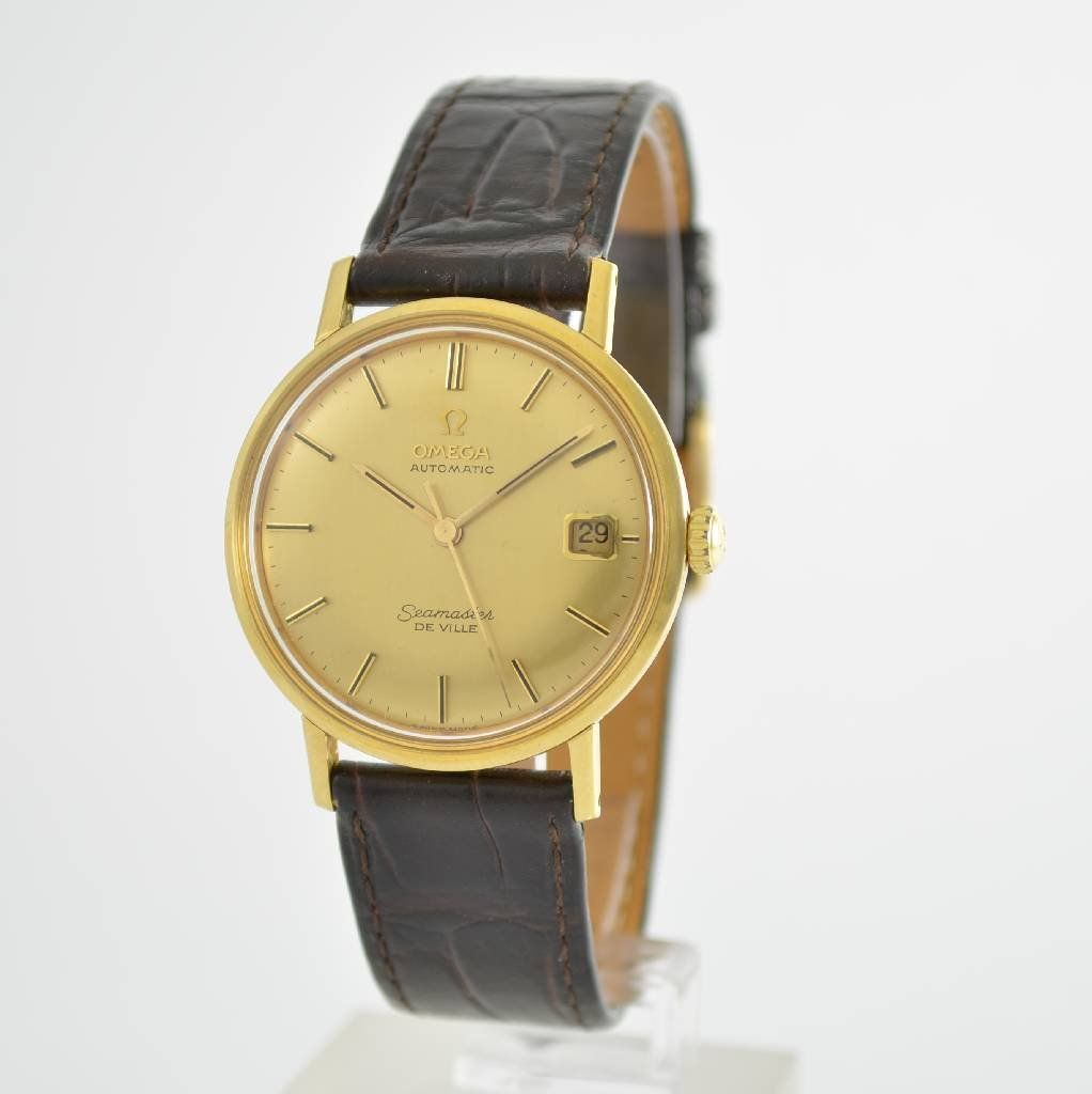 OMEGA gent's wristwatch Seamaster De Ville, self