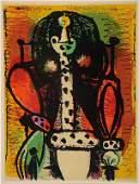 Pablo Picasso, 1881-1973, three color lithographs