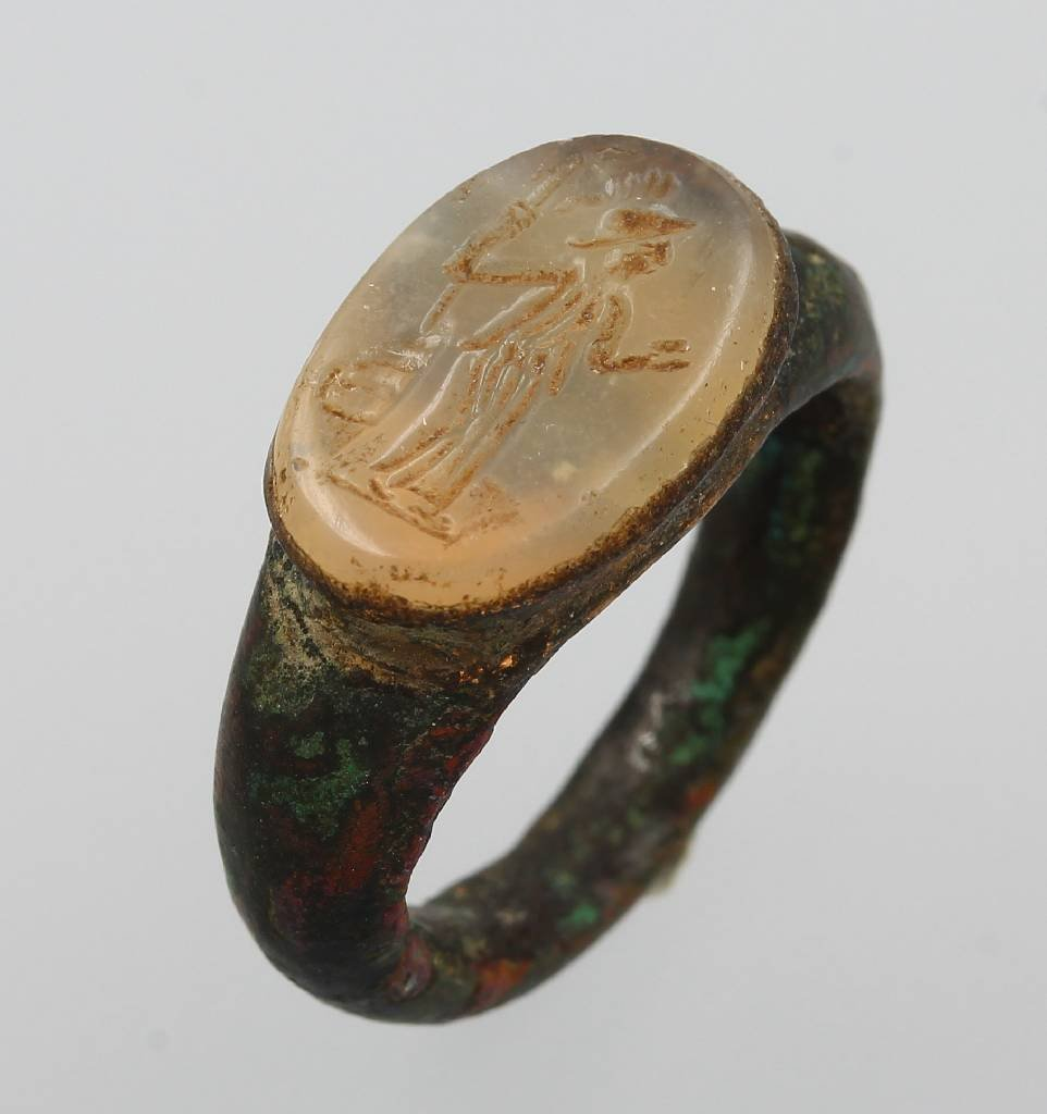 Iron ring, Rome approx. 100 A.D.