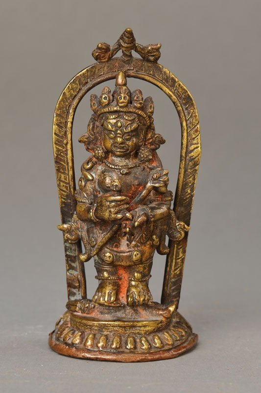 God of the dead, Nepal, early 18th c., Bronze,
