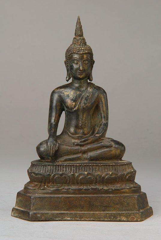 Buddha, Burma / Thailand, 19th century, Bronze,