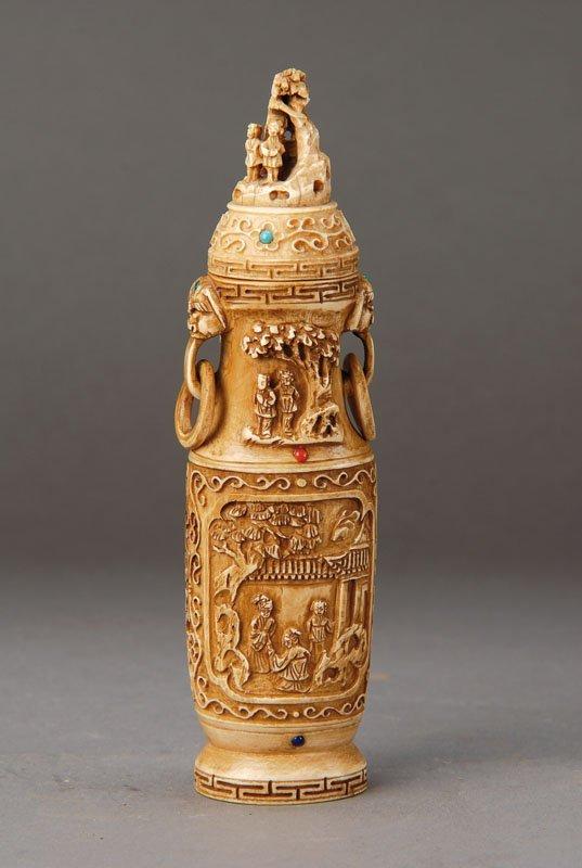 decorative vase, China to 1900/10,