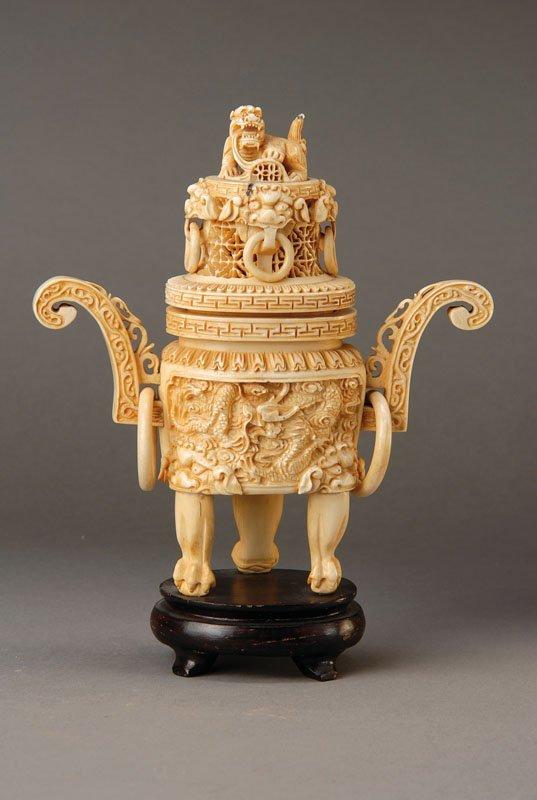 ivory Korro, China, in 1900,