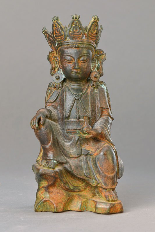 Boddhisatva, China, End ot 18. th c.,