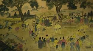 Korean artist, to 1900/10,