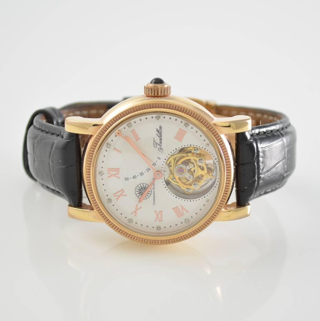 CONSTANTIN DURMONT Tourbillon gent's wristwatch