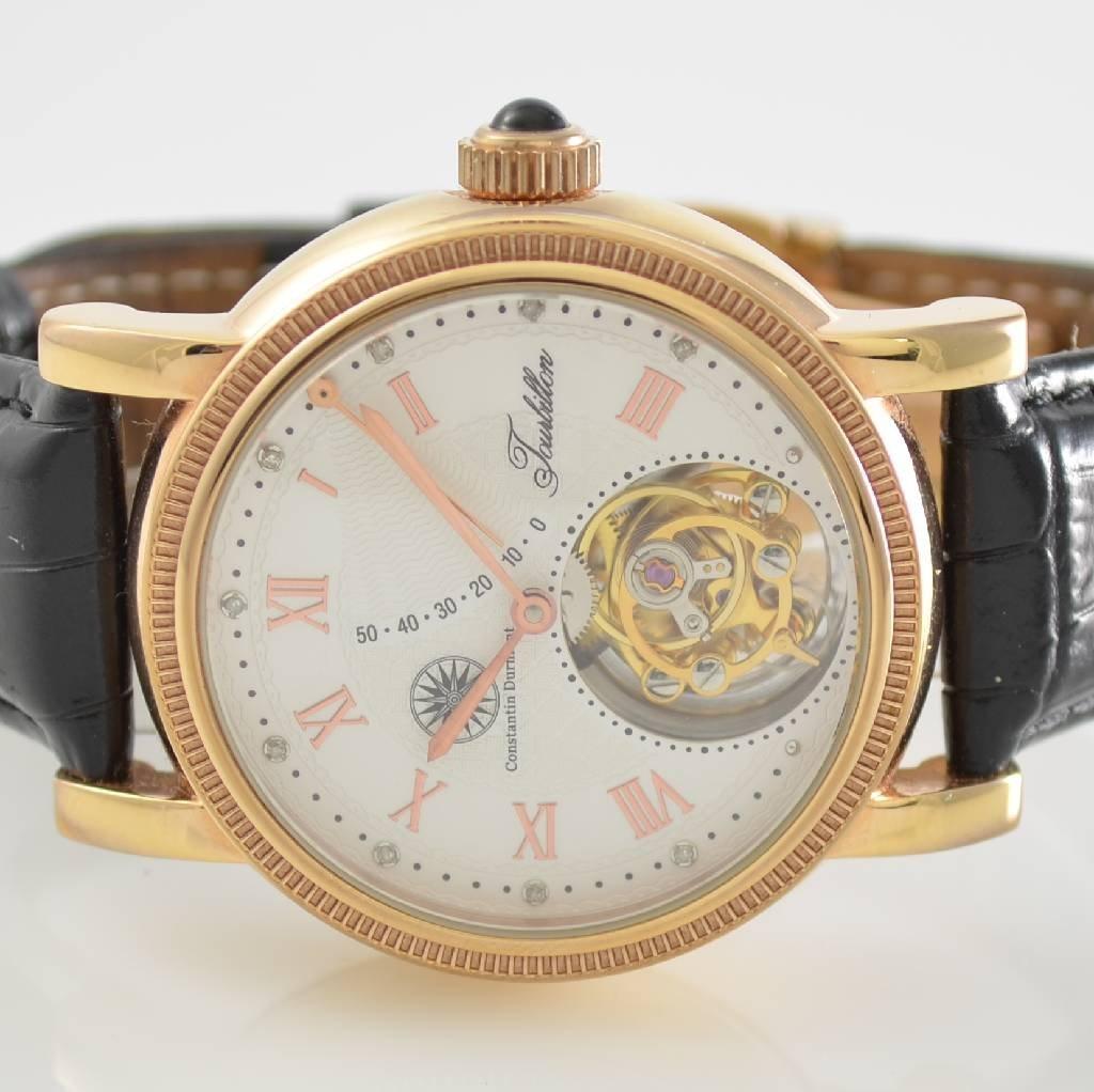 CONSTANTIN DURMONT Tourbillon gent's wristwatch - 2