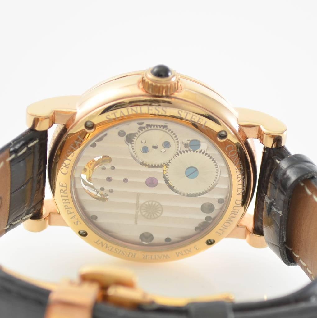 CONSTANTIN DURMONT Tourbillon gent's wristwatch - 3
