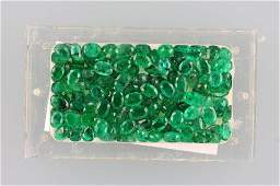 Lot loose emeralds total approx 5550 ct