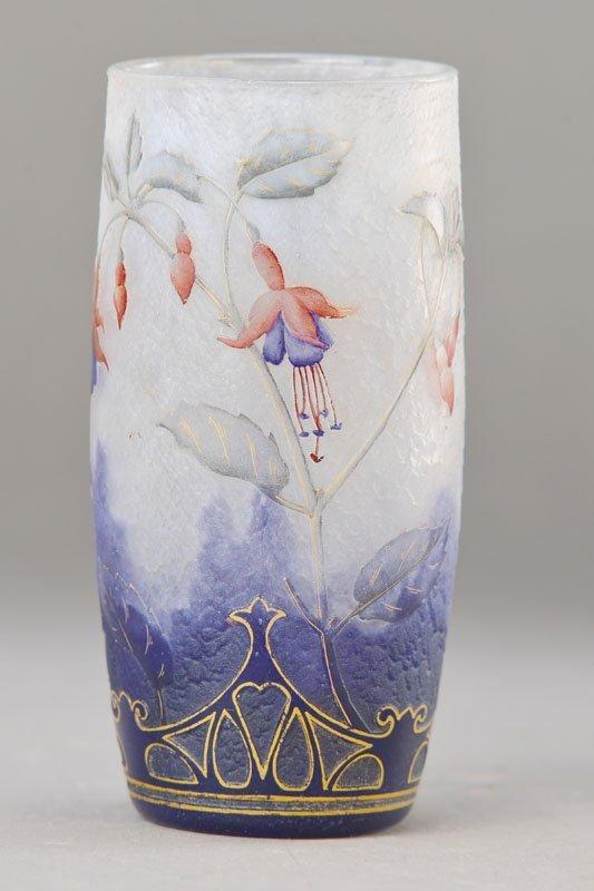 Vase, Daum, Nancy, in 1900, glass