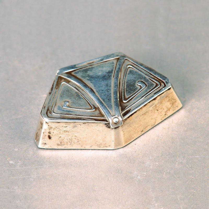 box, German, to 1905, 800 silver