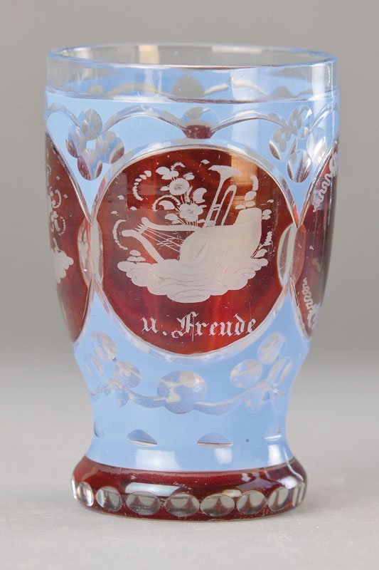 Friendship cup, Bohemia, to 1840/50