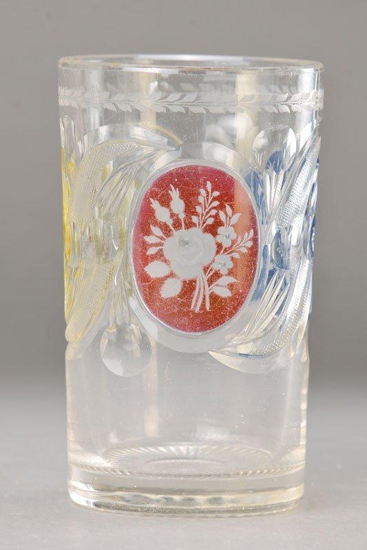 Glass, Bohemia, around 1850, glass