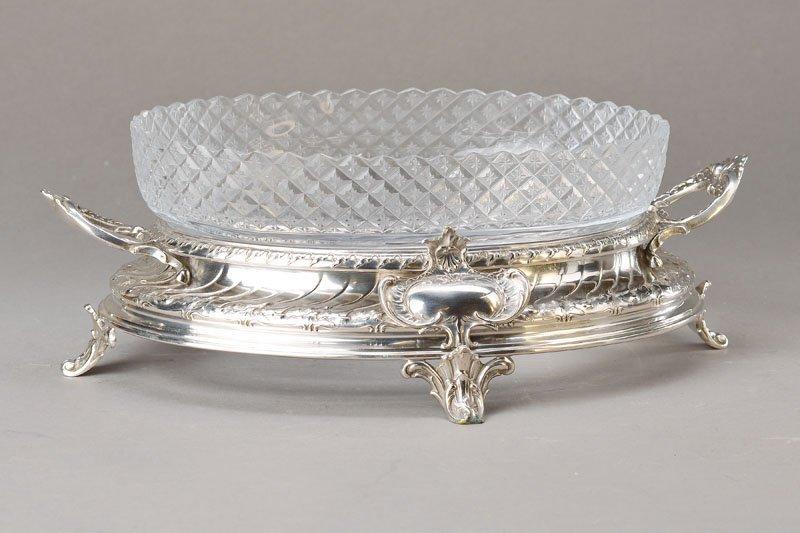 serving bowl, Koch & Bergfeld, 1890, 800 silveR