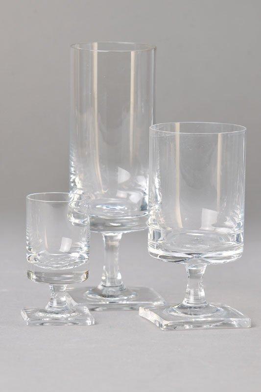 Glass Set, Rosenthal, design Georg Jensen