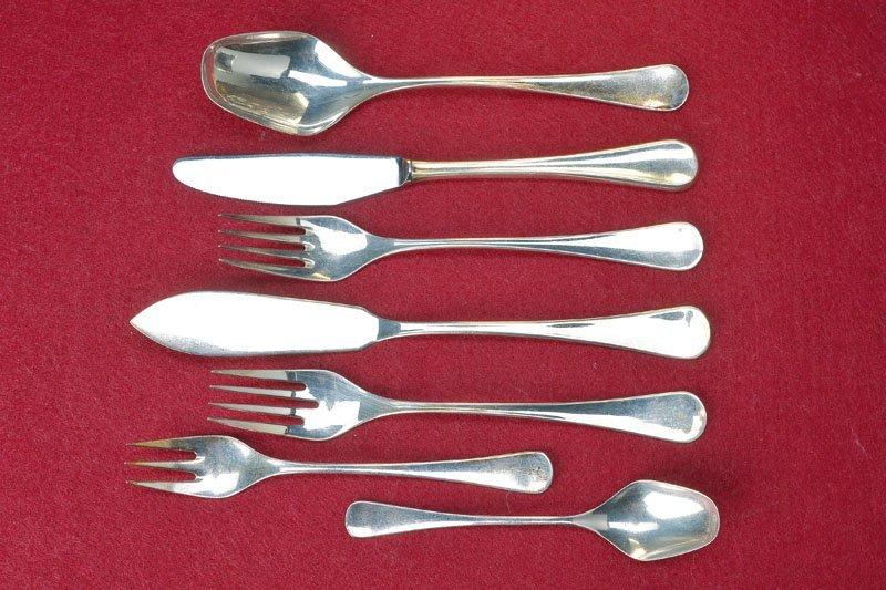 Comprehensive silverware, Robbe & Berking, 1960s