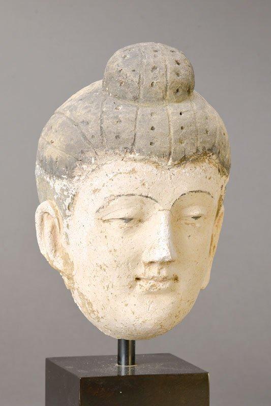 Head, Gandhara, 6.-7th C.