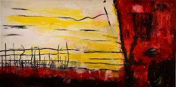 Paul Hermann, born 1948 in Aurich, acrylic / oil