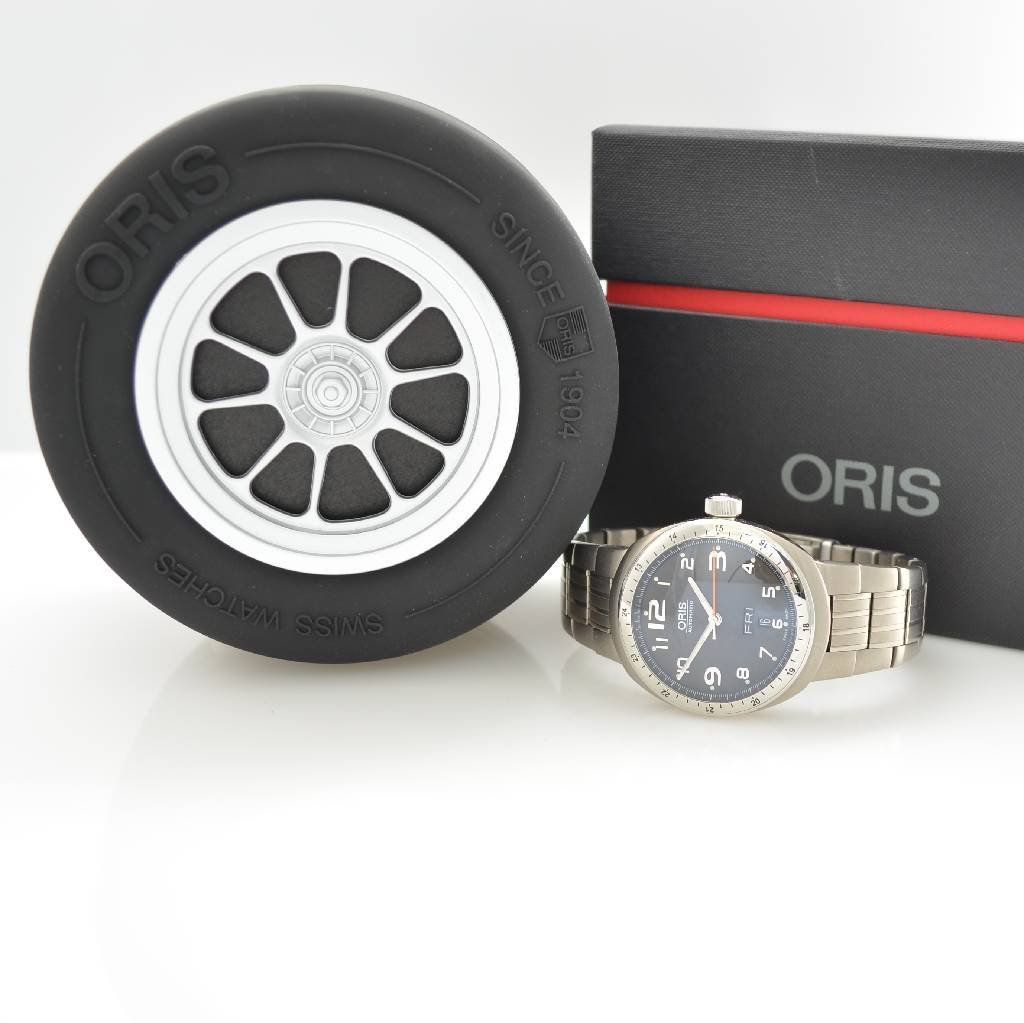 ORIS self winding gent's wristwatch with day & date