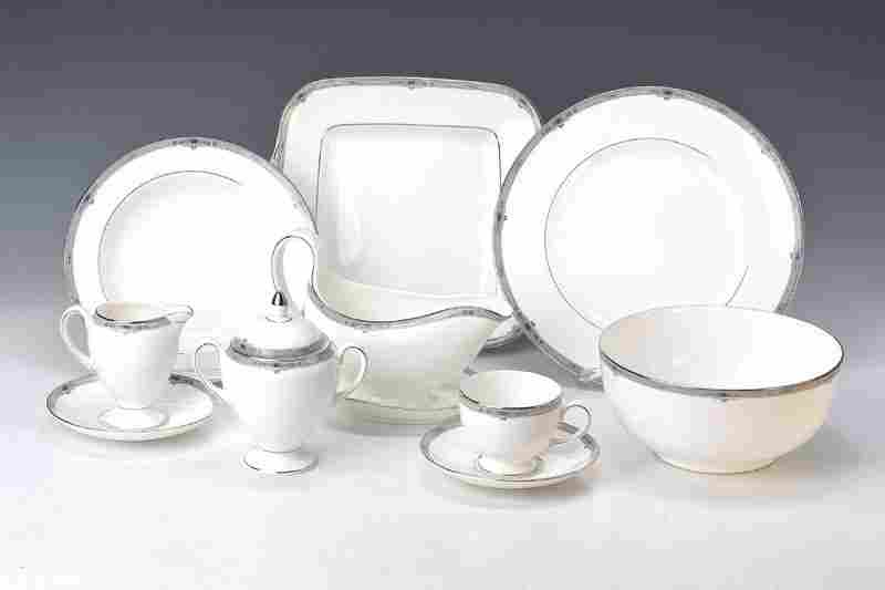 Coffee and dinner set, Wedgwood